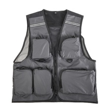 Breathable Outdoor Sport Jacket Fly Fishing Vest Mesh Multi-Pocket Vests Waistcoat Quick Dry outdoor Hike Fisherman Clothes