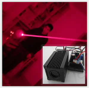 Image 1 - High quality Fat Beam 12V 200mW Red 650nm laser module head TTL/PWM laser club mini laser stage lighting light Room escape laser