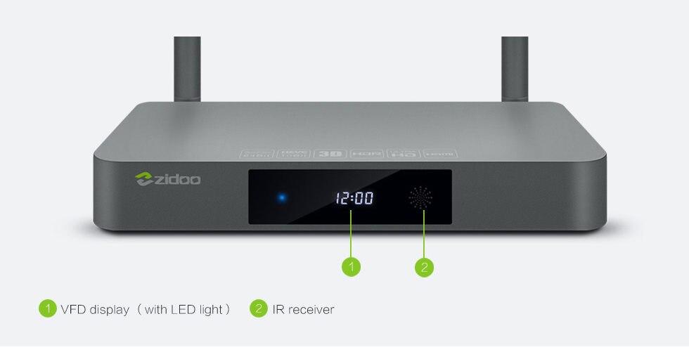 ZIDOO X9S 4K*60fps HD HDMI 2.0 Android 6.0 Quad-Core TV box ZIDOO X9S 4K*60fps HD HDMI 2.0 Android 6.0 Quad-Core TV box HTB1DssGcrsTMeJjSsziq6AdwXXae