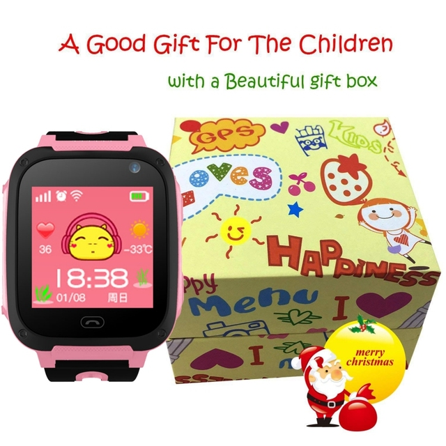 Kids Smartwatch gps watches blood pressure monitor SIM Card Call Tracker Child Camera SOS Anti-lost smart watches for children 5