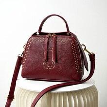 genuine leather bags women real leather shoulder crossbody bags 2019 new design luxury handbags women bags designer sac a main цены онлайн