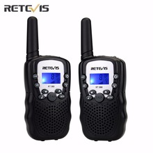 2 pcs 5 Colors EU Frequency Mini Walkie Talkie Kids Radio Retevis RT388 Portable Radio Set 0.5W Two Way Radio Communicator A7027