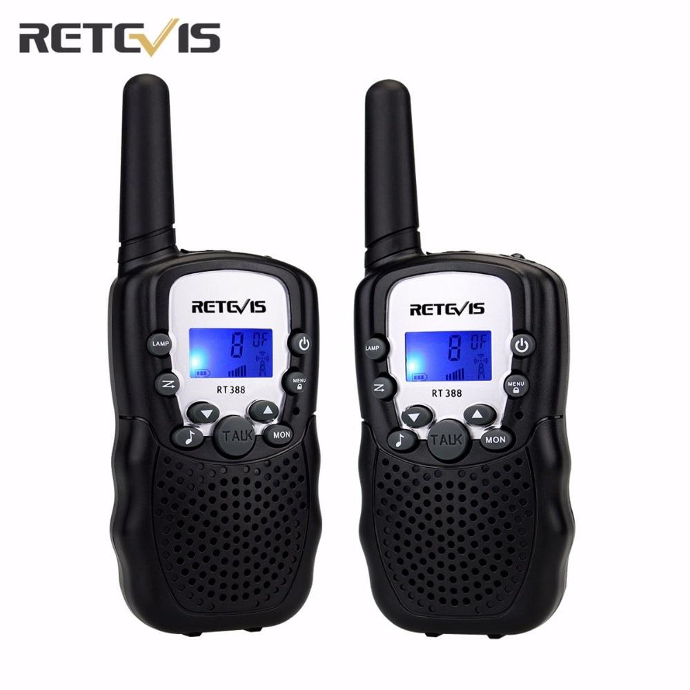 2 pz 5 Colori EU Frequenza Mini Walkie Talkie Per Bambini Radio Retevis RT388 Portatile Radio 0.5 W Bidirezionale Comunicatore Radio A7027