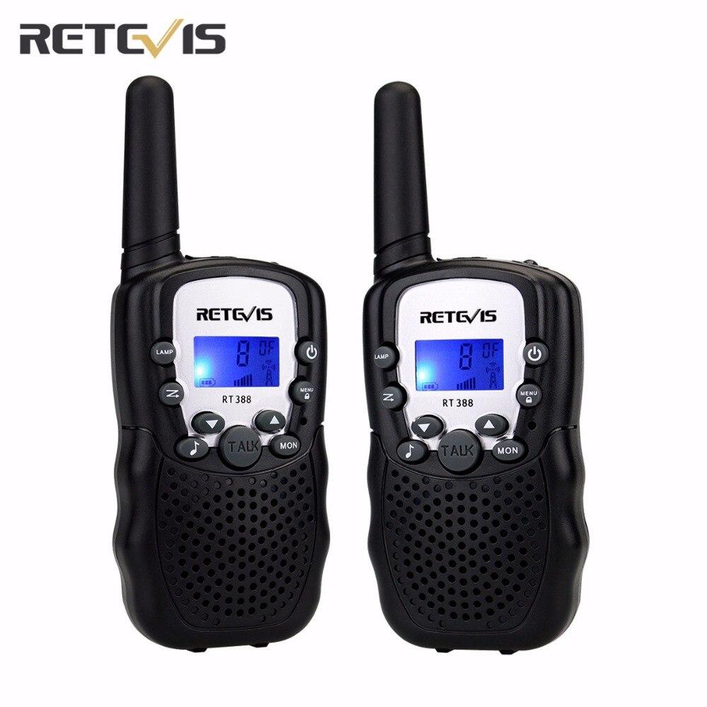 2 stücke 5 Farben EU Frequenz Mini Walkie Talkie Kinder Radio Retevis RT388 Tragbare Radio Set 0,5 Watt Funkgeräte Communicator A7027