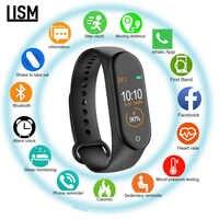 New Smart Band M4 Wristband Heart rate/Blood/Pressure/Heart Rate Monitor/Pedometer Sports Bracelet PK M3 Health Fitness bracelet
