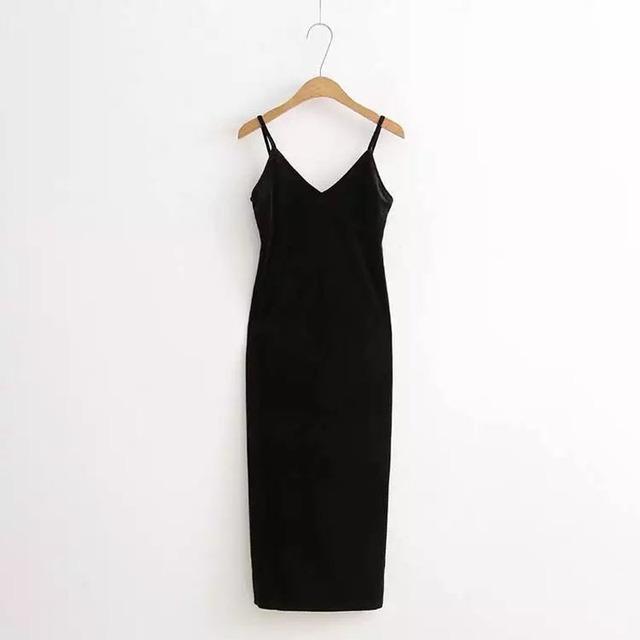 Sexy Bodycon Velvet Dress
