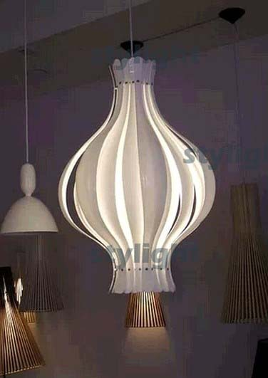Onion pendant lamp modern design lighting living room dinning room suspension light hanging lights designer chandelier