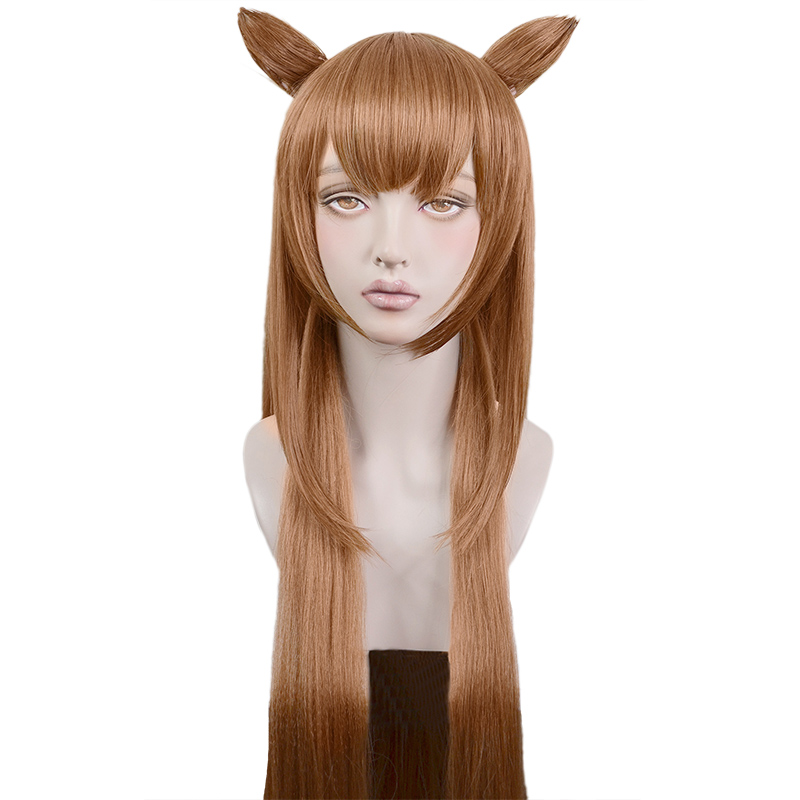 The Rising of the Shield Hero Raphtalia Cosplay Wig Hair Headwear Halloween Cosplay Costume Accessories