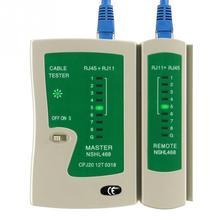 Профессиональный сетевой Кабельный тестер RJ45 RJ11 UTP LAN Кабельный тестер сетевой инструмент ручной Проводной детектор телефонной линии