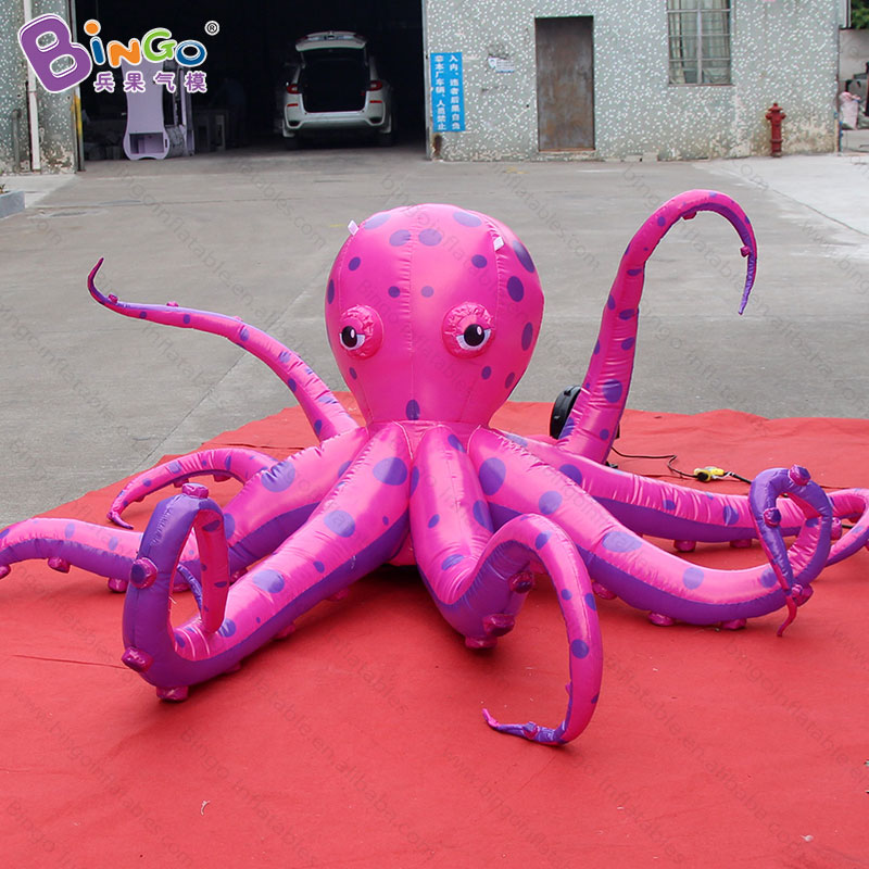 Marine/Ocean theme event 3X1.5m inflatable octopus balloon For Decoration -inflatable toy