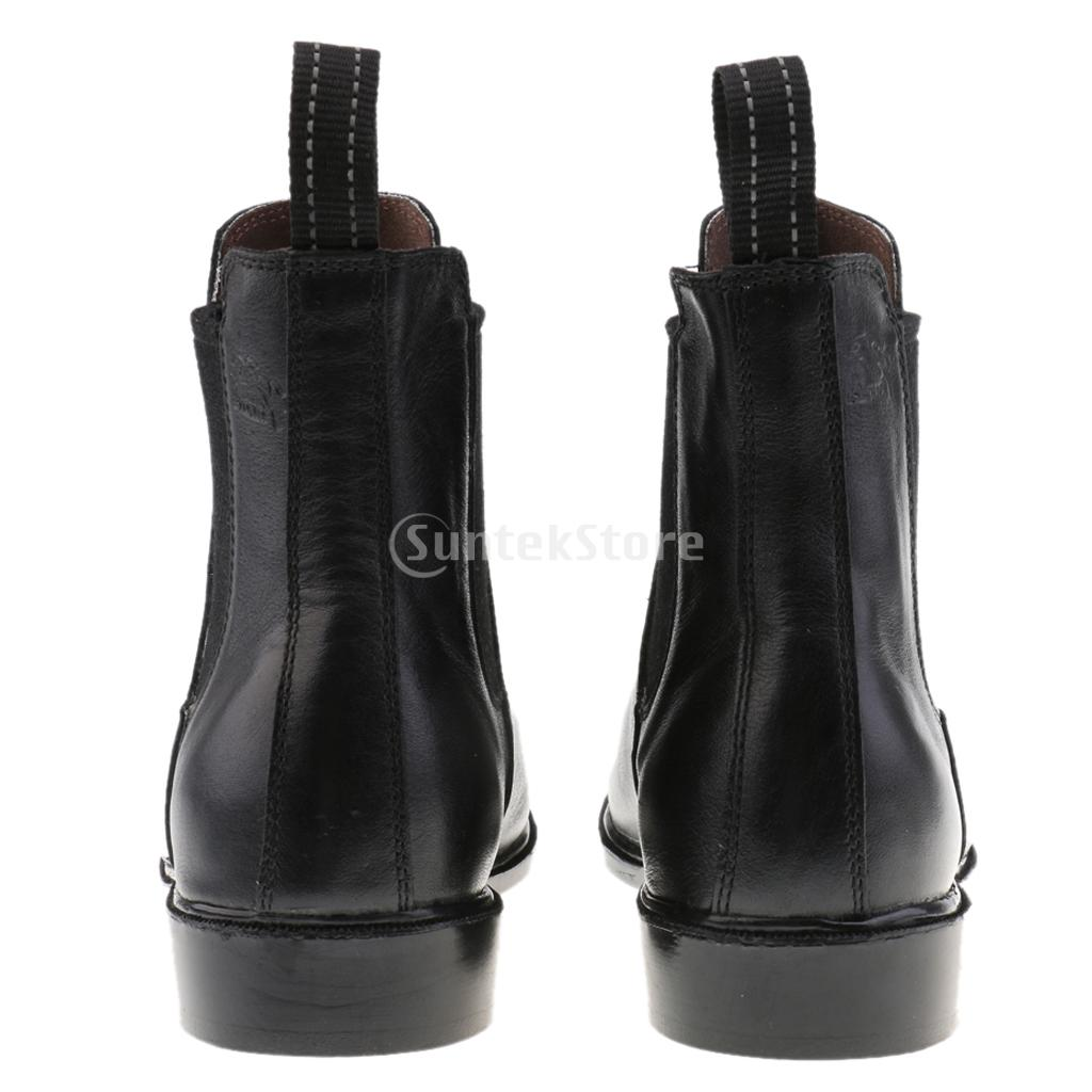 c2e6d1aad Quality Kids Children Paddock Equestrian Ankle Short Boots Horse Riding Pull  On Footwear Shoes 26-