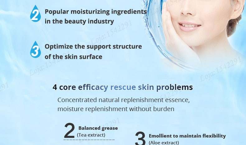 Hyaluronic acid natural silk moisturizing facial masks woman cleansing purifying pores acne whitening face skin care beauty mask 14