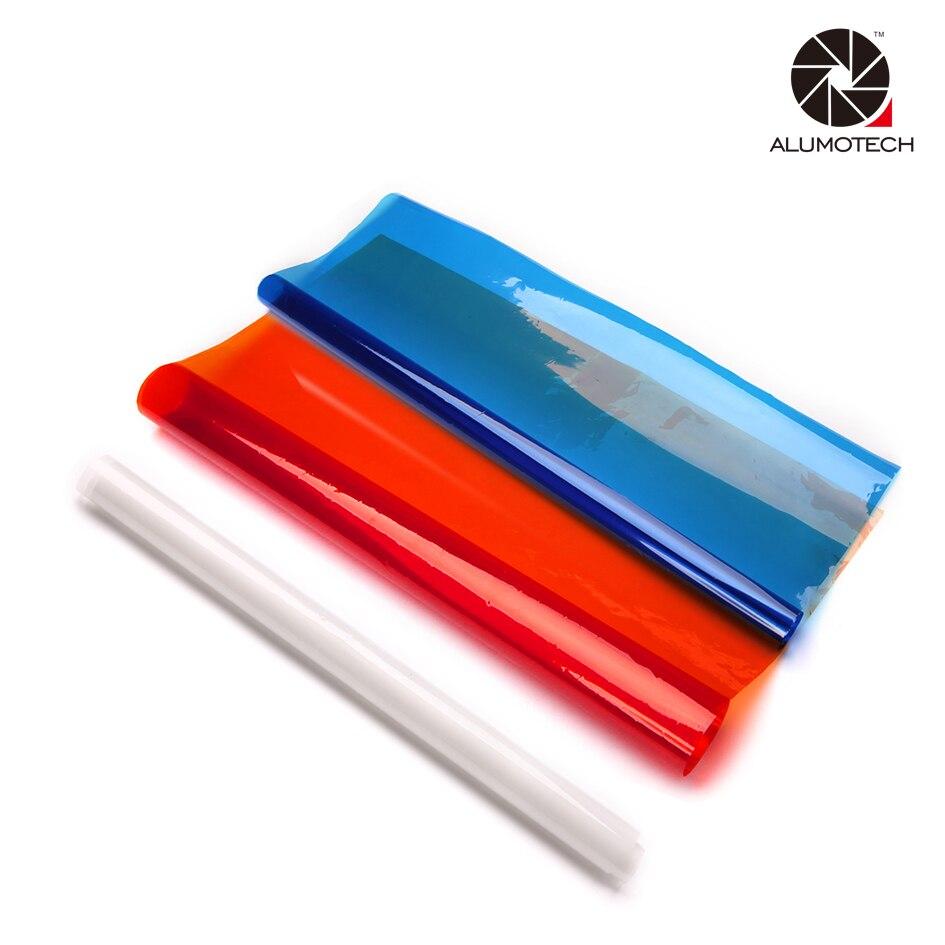 Filtre de couleur Coloré Gel 3200 k 5600 k Pour Arri Fresnel tungstène d'éclairage D'appareil-photo