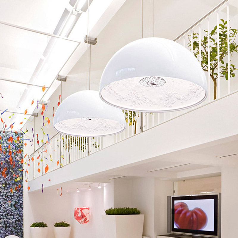 DHL Modern Minimalism FRP Resin Material Foyer E27 LED Pendant Light Marcel Wanders Internal Pattern Skygarden Led Hanging Light furuyama m ando modern minimalism with a japanese touch taschen basic architecture series
