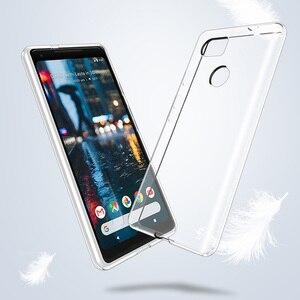 Image 4 - Chống Sốc Bảo Vệ Toàn Diện Điện Thoại Dành Cho Google Pixel 2 3 3A 4 XL Tinh Thể Silicon Mềm Mại Coque Cho Google Pixel XL 2 Pixel3 Bao