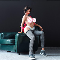 new arrival 166cm muscle big ass real silicone sex dolls, big boobs real doll life size european girl breast love sex doll
