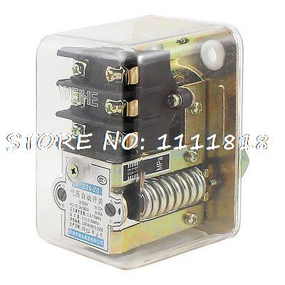 Air Compressor AC 380V 20A 72.5-217.5PSI 1-Port Automatic Pressure Switch Valve 13mm male thread pressure relief valve for air compressor