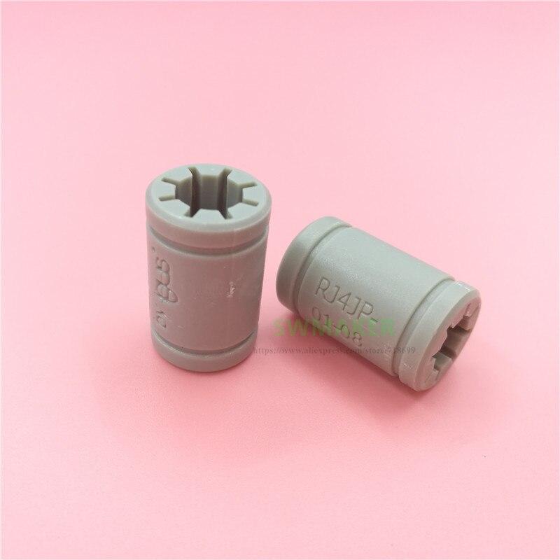 1pcs Igus RJ4JP-01-08 Linear Bearing Plastic LM8UU bush FOR 8mm round rod CNC 3D