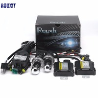 1 set h4 xenon lamp hid conversion kit xenon Light h4 bi xenon 4300k 5000k 6000k 8000k 10000k 12000k h4 hi low xenon Ballast