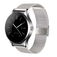 K88H Смарт часы 1.22 дюймов круглый экран Поддержка монитор сердечного ритма Bluetooth SmartWatch для Apple Huawei IOS Android PK KW88