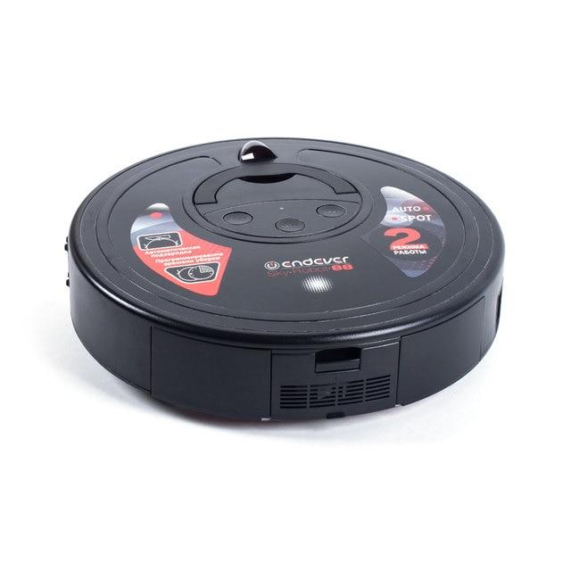 Робот-пылесос Endever SkyRobot-88 (Емкость аккумулятора 2200 мА/ч, время непрерывной работы 120 мин, пульт дистанционного управления)