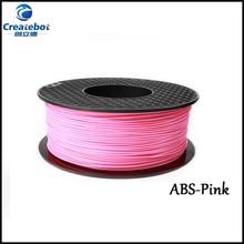 3D Printer Filaments ABS 1.75/3.00mm for Createbot Makerbot Reprap Mendel UP Machine 1kg(2.2lb)