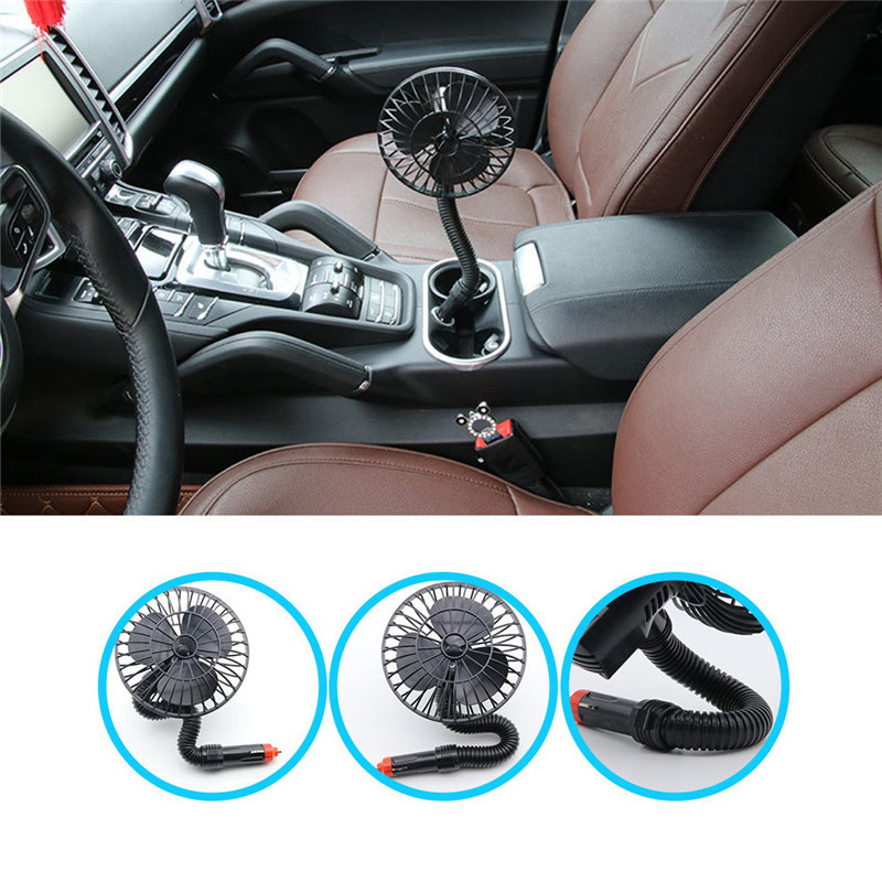 2017 12v 15w car mini cooling fan cigarette lighter auto wireless electric fan ventilation air. Black Bedroom Furniture Sets. Home Design Ideas