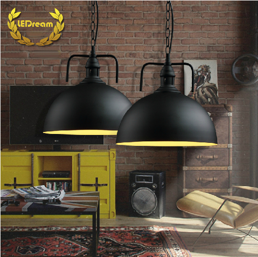 ФОТО Industrial type of northern American contracted creative country restaurant warehouse droplight sitting room restoring