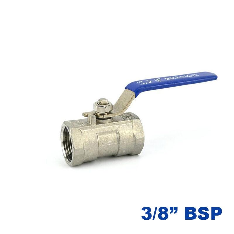 6//8//10mm Hose Barb Inline Brass Water//Air Gas Fuel Line Shut-off Ball Valve CB