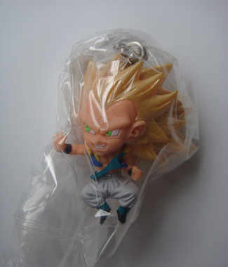"100% Original BANDAI Gashapon Toy PVC Figure UDM THE BEST 12-Gotenks Super Saiyan 3 do Japão Anime ""Dragon Ball Z"""
