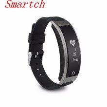 Smartch I8 smart Сердечного ритма Мониторы измерять кровяное давление часы с Шагомер сна Фитнес трекер умный Браслет