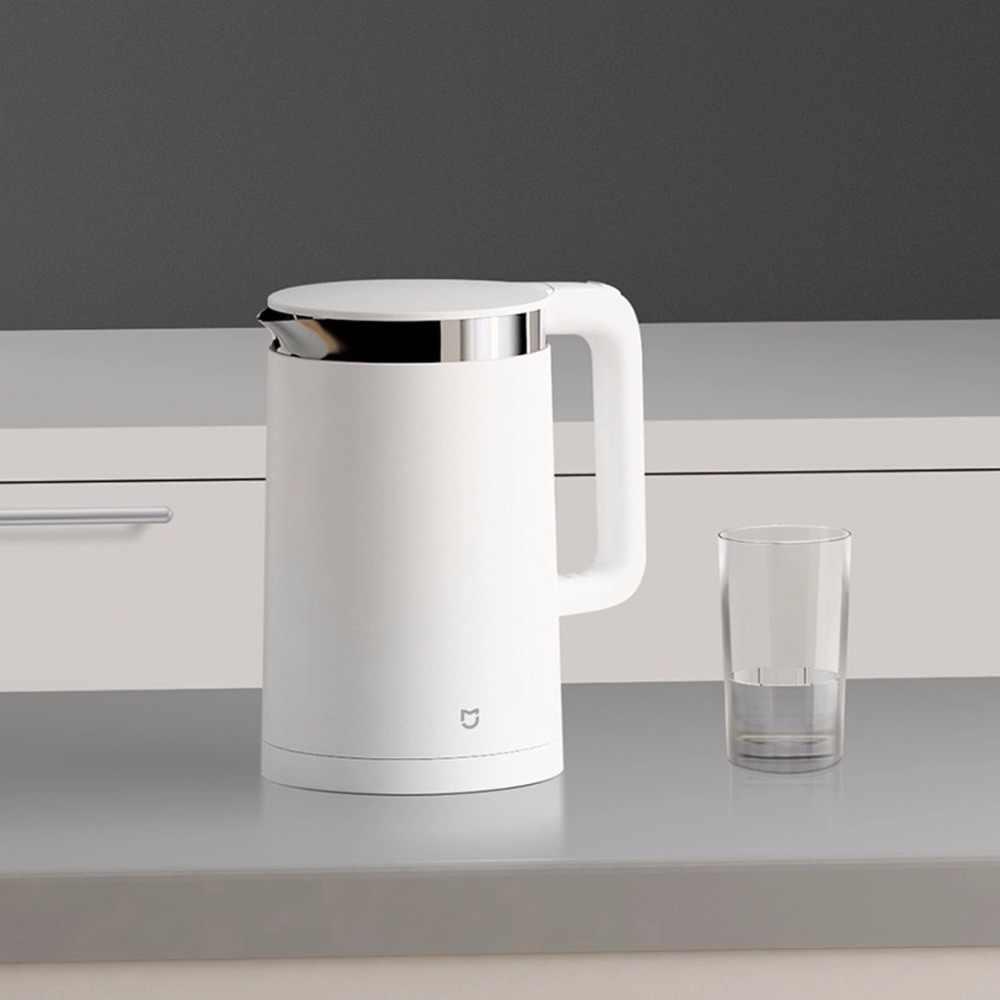 Orijinal Xiao mi mi jia akıllı termostatik elektrikli su ısıtıcılar 1.5L 12 saat termostat desteği kontrolü ile akıllı mi ev APP