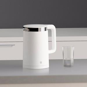 Image 5 - Oryginalny Xiao mi mi jia inteligentne termostatyczne elektryczne czajniki wodne 1.5L 12 godzin termostat wsparcie sterowania z inteligentnym mi aplikacja domowa