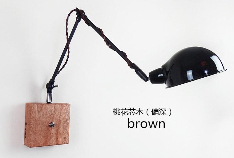 Vintage industriale loft personalità semplice legno ferro e