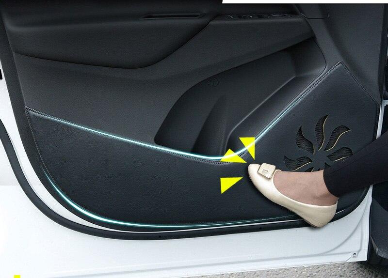 4pcs PU for Chevrolet malibu-XL malibu sail cruze trax Door anti-kick pad Protection pad sticker shock absorber spring bumper power cushion buffer 4pcs lot for chevrolet malibu malibu captiva aveo trax cruze