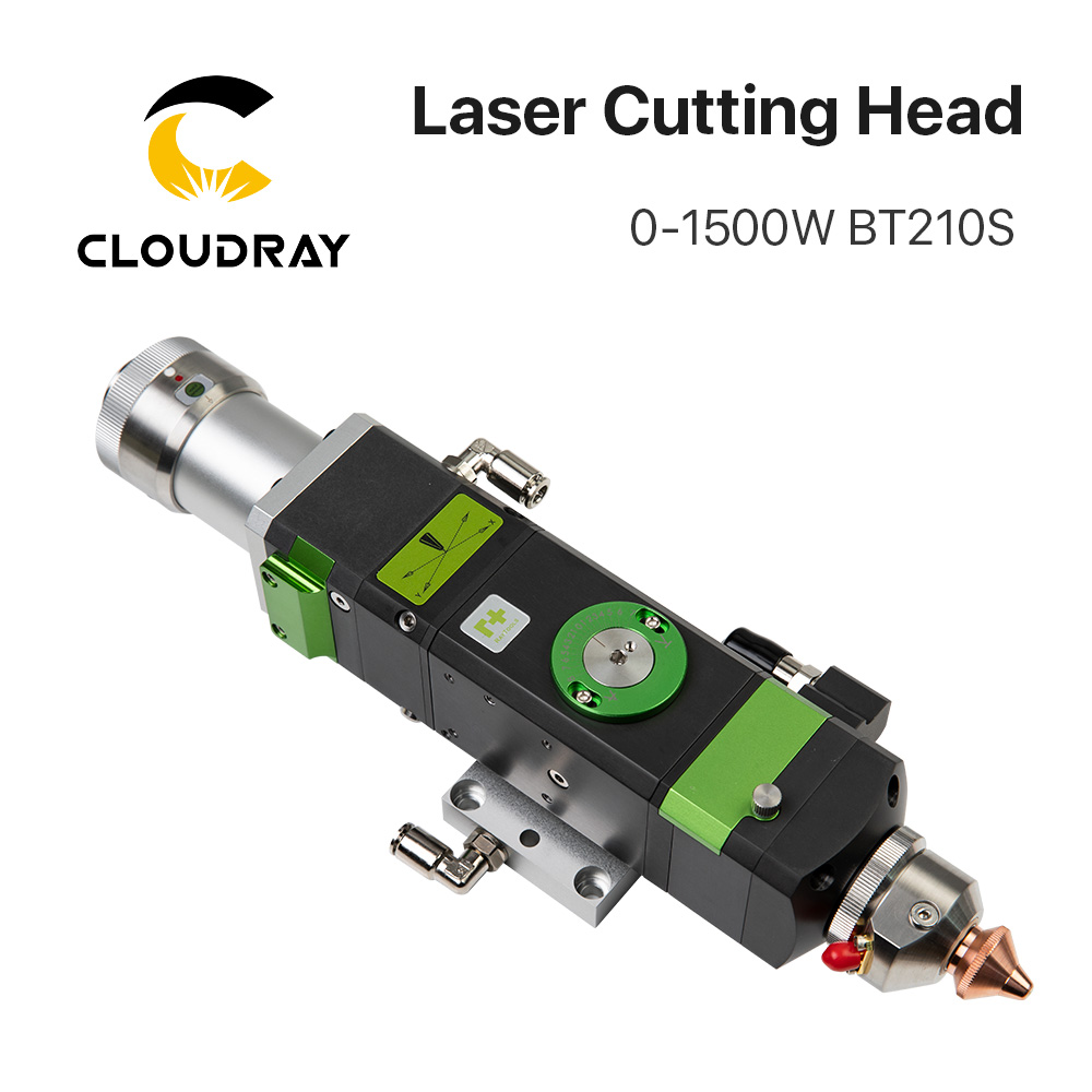Raytools BT210s 0-1500w Fiber Laser Cutting Head For Metal Cutting