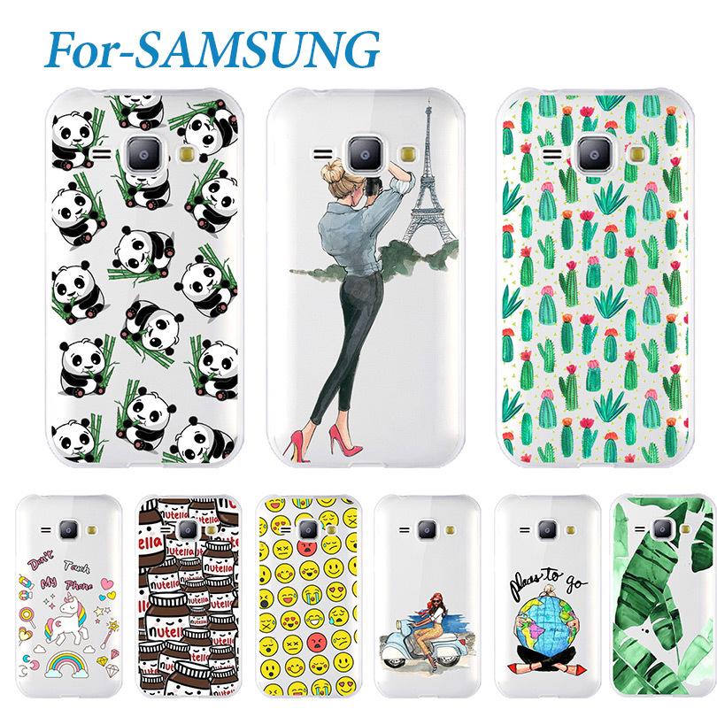 Young Phone Case For Samsung Galaxy J1 2016 J120 J120F Fundas Capa Lovely Soft Silicone TPU Cover For Samsung J1 2016 Case Cover