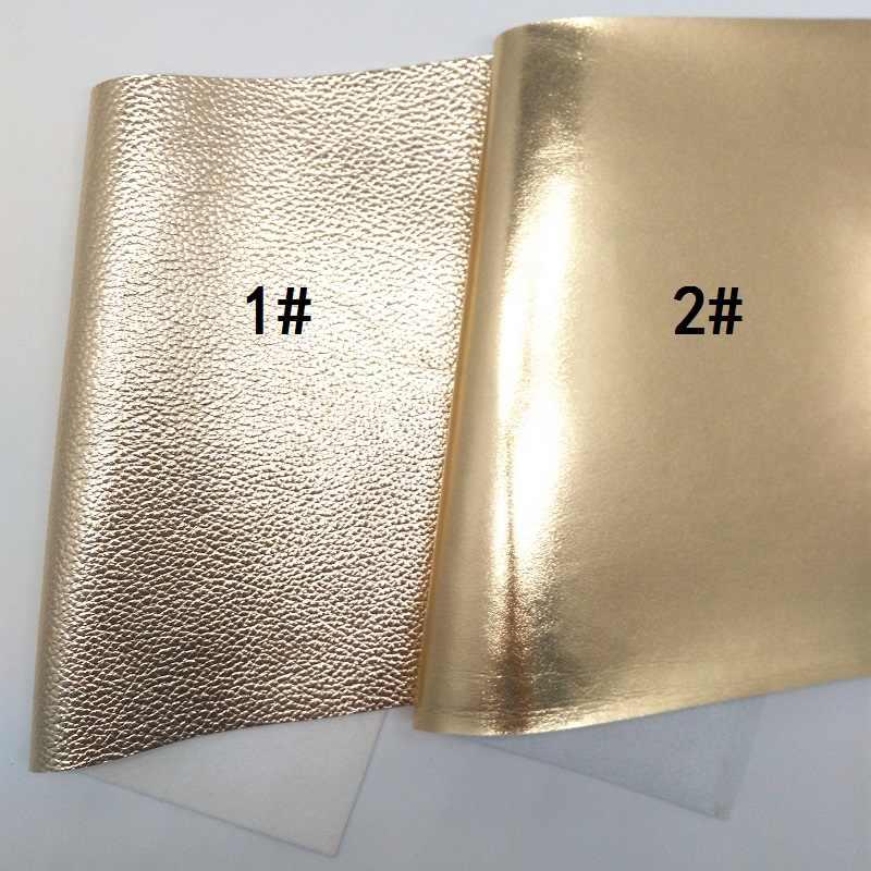 1 PCS A4 KÍCH THƯỚC 21X29 cm Alisa Glitter Vinyl Cho Cung, vàng Da Vải cho Bow DIY J31F