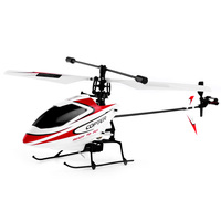 Original WLtoys V911 RC Helicopter 2 4G 4CH Drone Toy Remote Control Drones Flying Toy Helicoptero