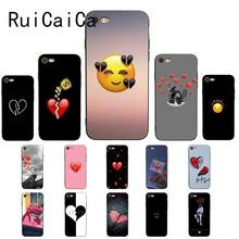 RuiCaiCa Quebrado Coração Unique Luxury Design PhoneCase para iPhone 8 7 6 6 6S Plus X XS MAX 5 5S SE XR 10 Capa(China)