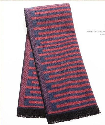 Marca de lujo de los hombres bufandas de lana de Invierno excelente calidad de Los Hombres de la bufanda de Los Hombres bufandas chales de moda de estilo