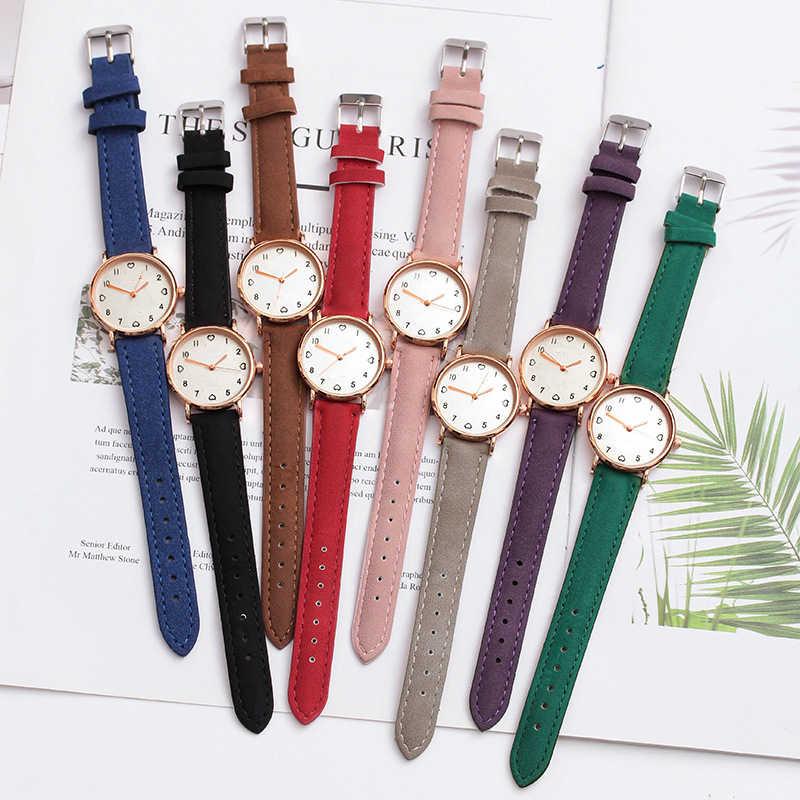 JBRL marque 2018 montre-bracelet Simple femmes PU montre dames montre-bracelet pour femme horloge coeur heures cadeaux pour femmes livraison gratuite