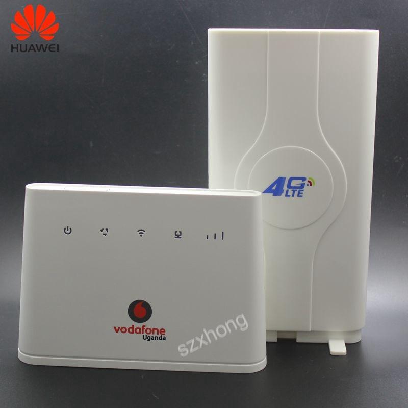 Débloqué Huawei 4G routeurs B310 B310s-22 avec antenne 150 Mbps 4G LTE CPE routeur WIFI Modem avec emplacement pour carte Sim jusqu'à 32 appareils