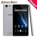 На Складе DOOGEE X5 5.0 5,5-дюймовый Android 5.1 Смартфон 3 Г WCDMA и GSM 8 Г БРОМВИЧ 1 ГБ RAM MT6580 Quad Core Поддержка Воспроизведения Магазин Мобильного Телефона