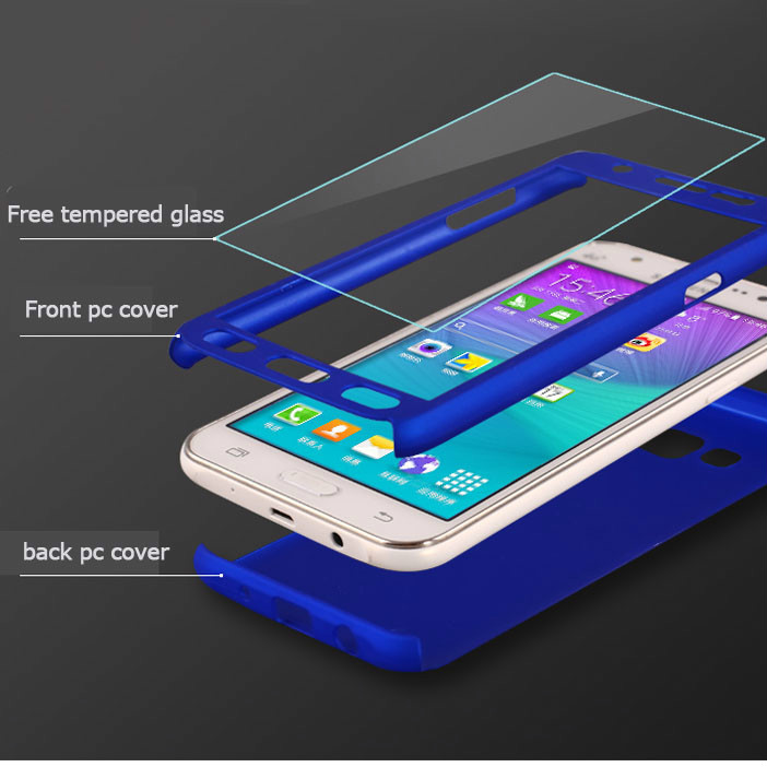 For Samsung Galaxy J1 2015 J120 J1 ACE J1 2016 Luxury 360 Degree Full Cover Protective Phone Covers Case Capa Coque