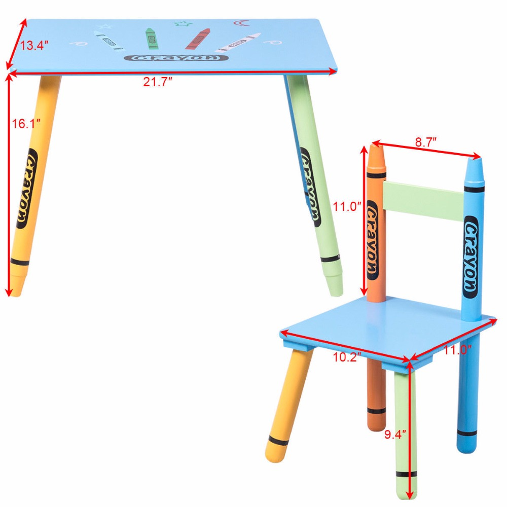 toddler table and chairs s-l1600
