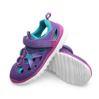 46bc9ede UOVO niños verano sandalias para niñas de moda de la marca de los niños  zapatos de playa de deporte al aire libre transpirable sandalias Venta  caliente 29 ...