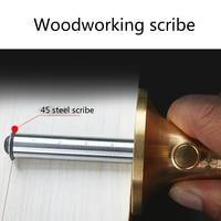 1PC Stainless steel Wheel Marking Gauge Woodworking Dovetail Marker Scribe Wood Marking Tool