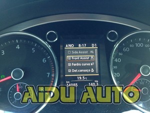 Image 3 - Full color Instrument Cluster Dashboard 280 km/h red Needle Sweep 35D 920 880 D FOR Passat B7 CC