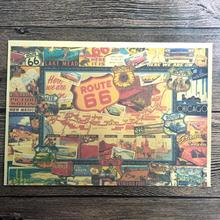 Popular Route Map UsaBuy Cheap Route Map Usa Lots From China - Route 66 map usa